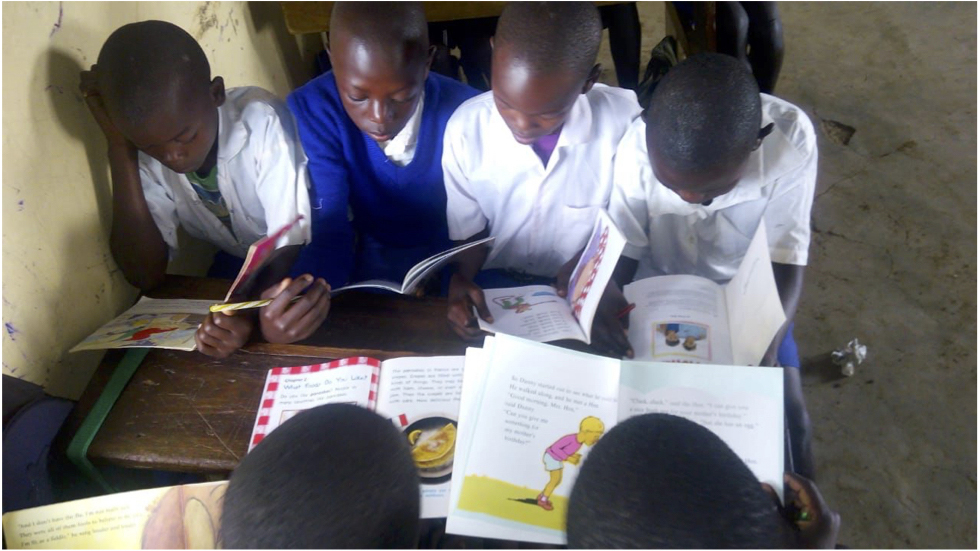 IHOPEE Equips Libraries in Africa.