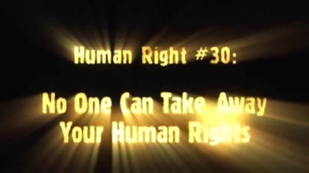 Human Right 30